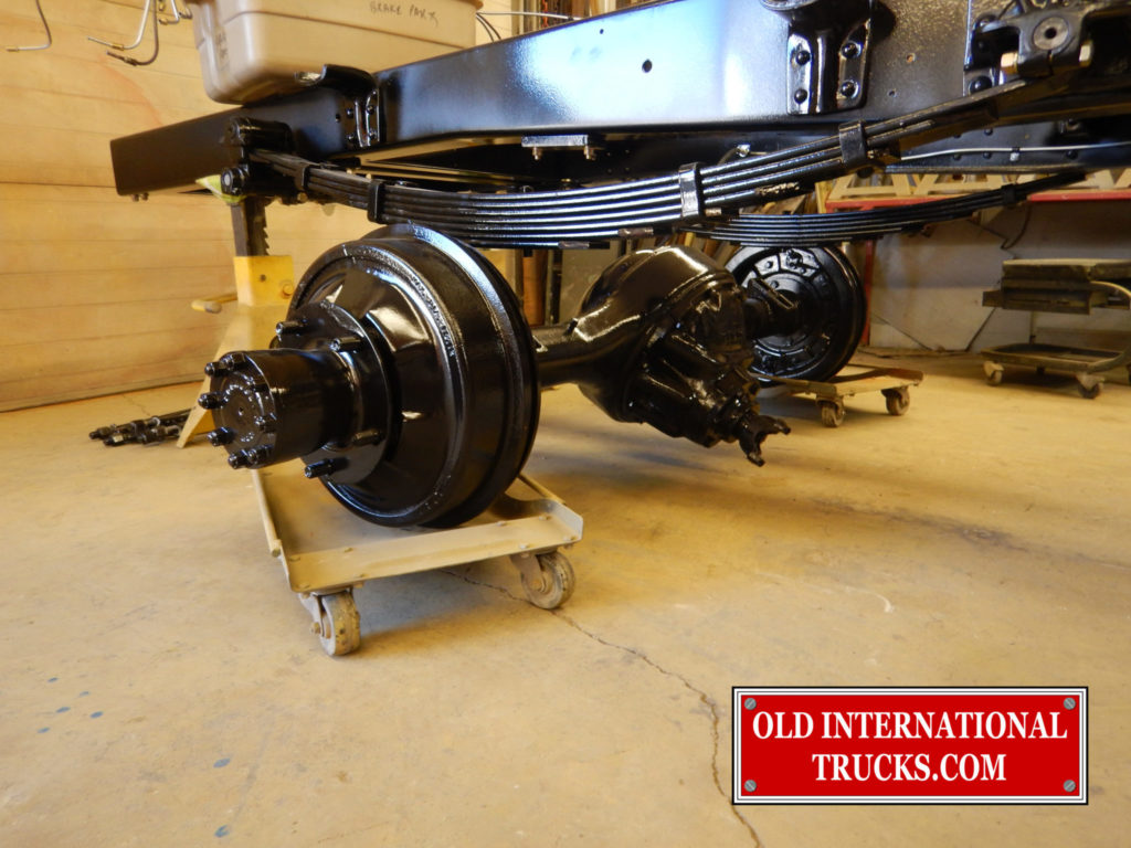 REAR AXLE REBUILT AND READY TO INSTALL